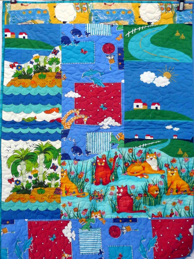 Bay Quilters charity quilt3