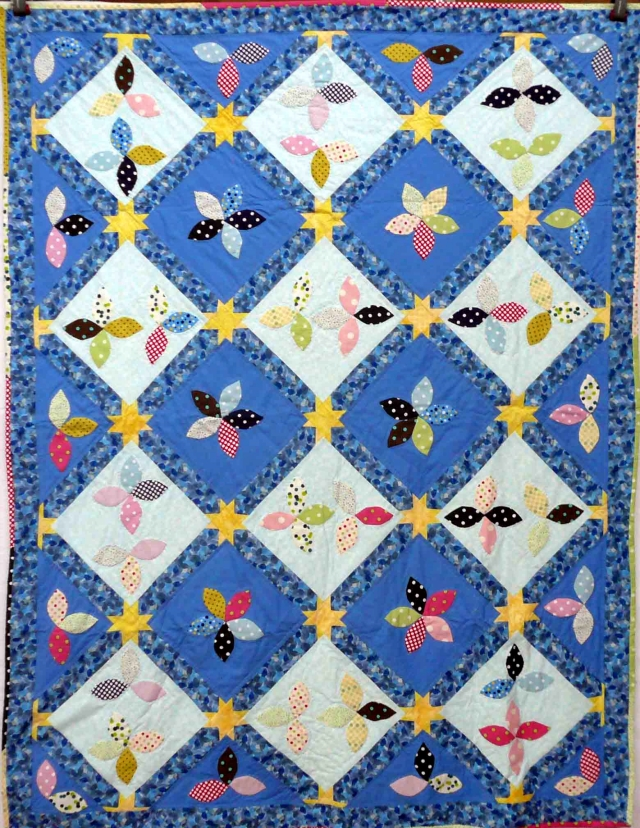 Bay Quilters charity quilt2