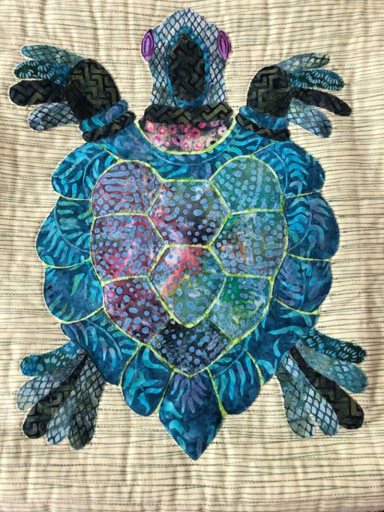 Barb W's collage turtle